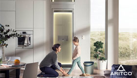 瑞特科最新S款家用电梯