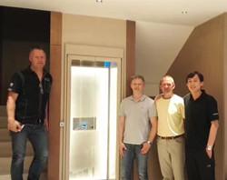 Aritco新款S系列螺杆家用电梯落户北京新新家园