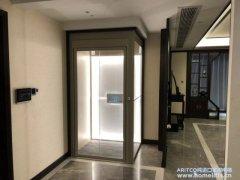 Aritco螺杆家用电梯复式安装案例
